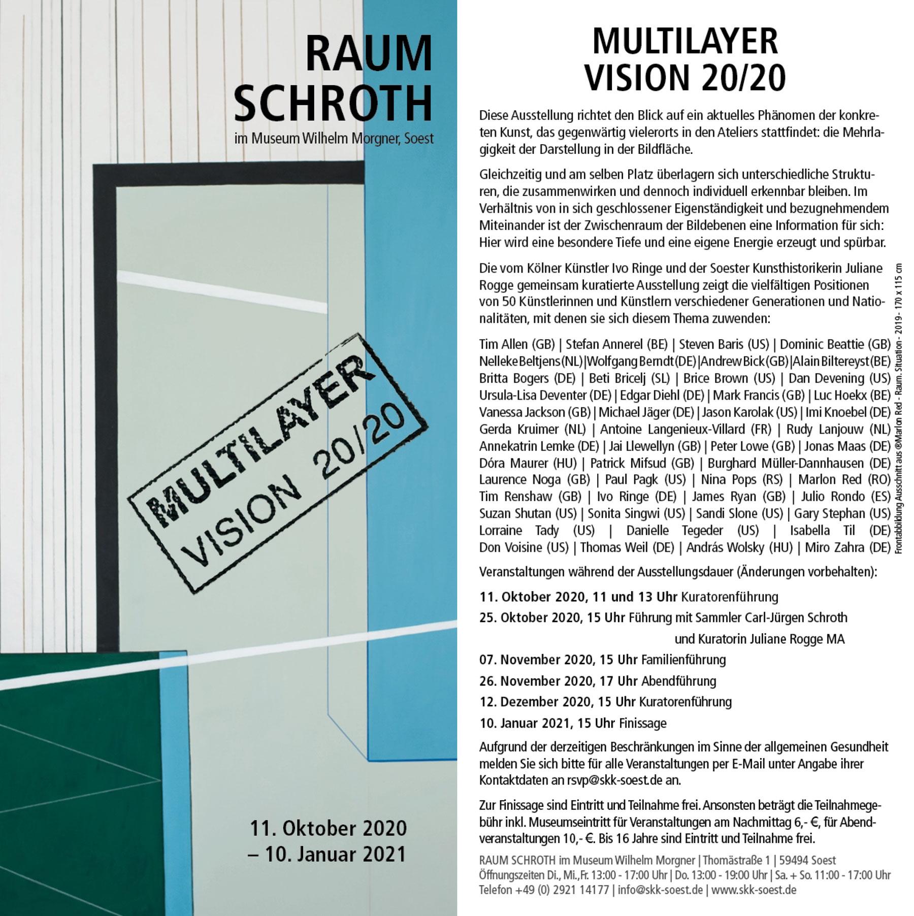 Britta Bogers Raum Schroth